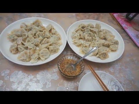 【丽姐美食汇】晚饭包芹菜肉馅大饺子,薄皮大馅一口一个吃得超美味
