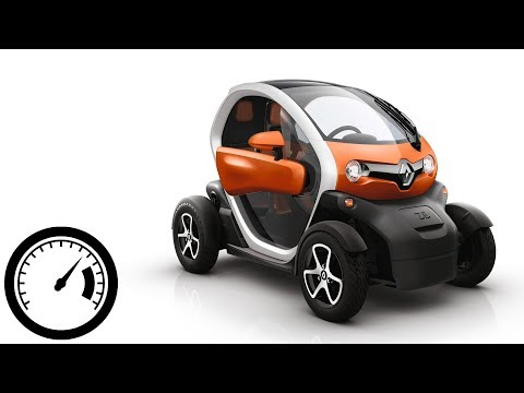Renault Twizy Acceleration: 0-50 Km/h, 0-80 Km/h (top Speed) :: [1001cars]