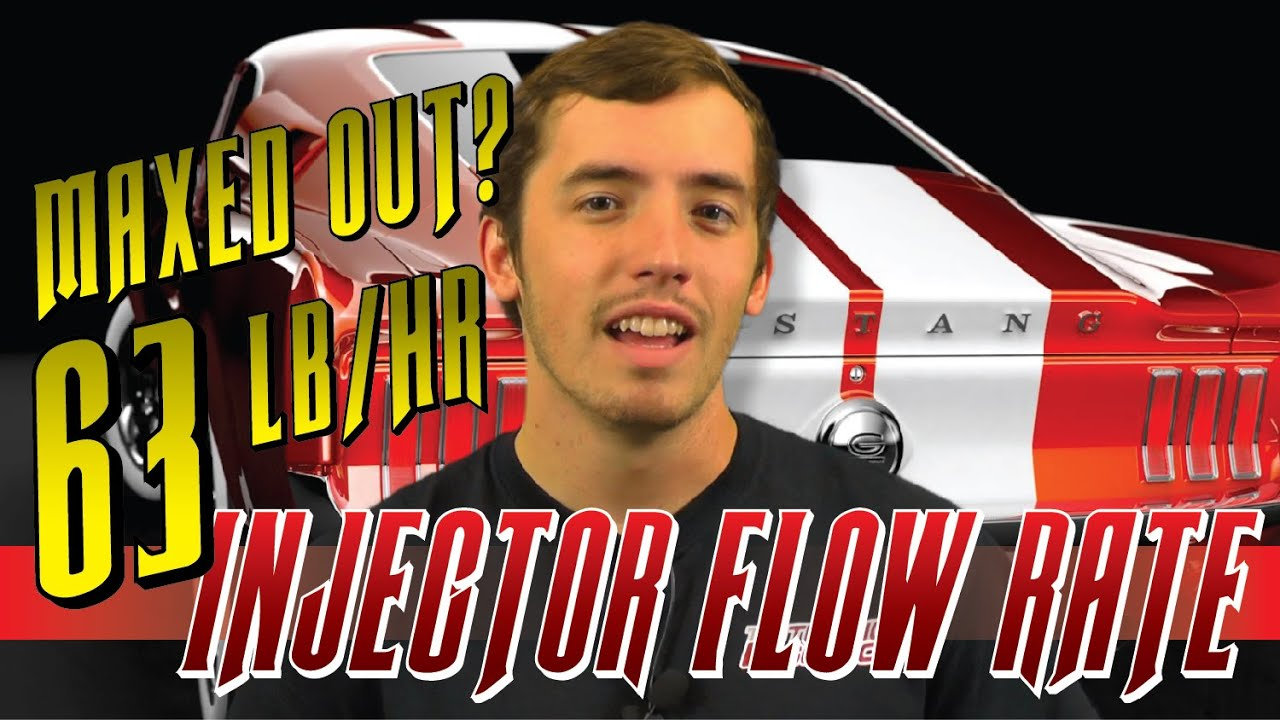 Injector flow rate maxed out at 63lbs/hr: How to fix hard limit using HP  Tuners 3 X software