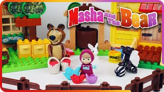 Repeat youtube video ♥ Masha and the Bear Compilation 2015 Маша и Медведь (The Golden Fish, Garden of Ice Cream...)