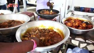 OKyeame Kwame, Abeiku Santana Eat Fufu In Public On ATUU