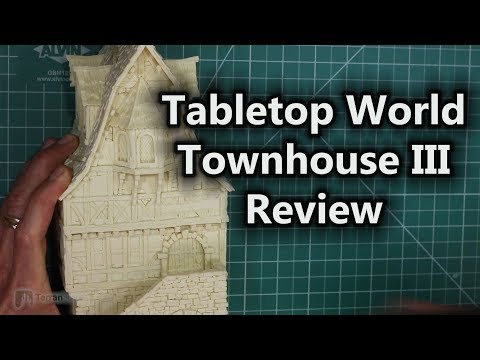 Tabletop World Building Review -- Townhouse III