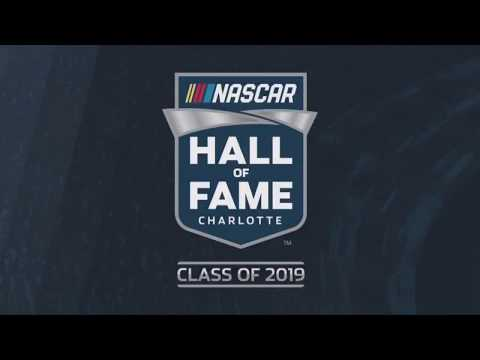 2019 NASCAR Hall of Fame Class announcement