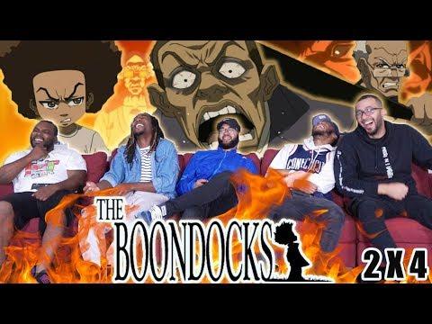 "Download The boondocks 2 x 4 Reaction! "" Stinkmeener Strikes Back"""