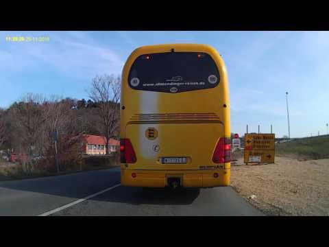 Timelapse travel from Nis (Serbia) to Sokobanja (Serbia)