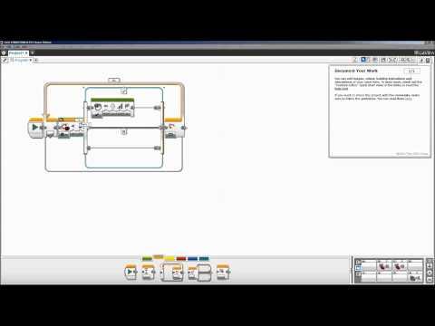 Lego Mindstorms EV3 Flow Control Overview