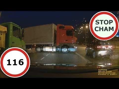 Stop Cham #116 – Niebezpieczne i chamskie sytuacje na drogach