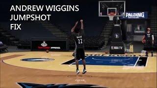2k16 Andrew Wiggins Jumpshot Fix