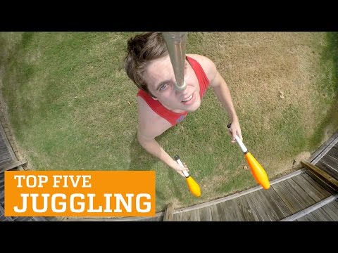 TOP FIVE JUGGLING | PEOPLE ARE AWESOME