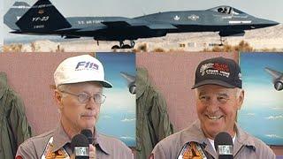 YF-23 DEM/VAL Presentation by Test Pilots Paul Metz and Jim Sandberg