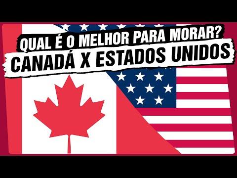 Canadá 🇨🇦 x Estados Unidos 🇺🇸 Qual é o melhor país para morar?