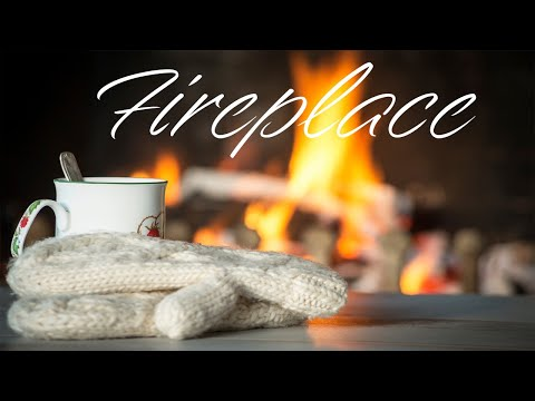 Winter Fireplace - Relaxing Jazz For  Winter Mood & Stress Relief