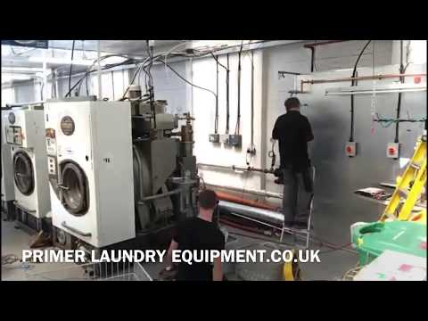 2018 Primer 133kg Industrial Washing Machine Supply And Installation By MAG Laundry Equipment