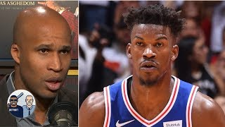 Jimmy Butler 'played a man's game' to even series vs. Raptors - Richard Jefferson | Jalen & Jacoby