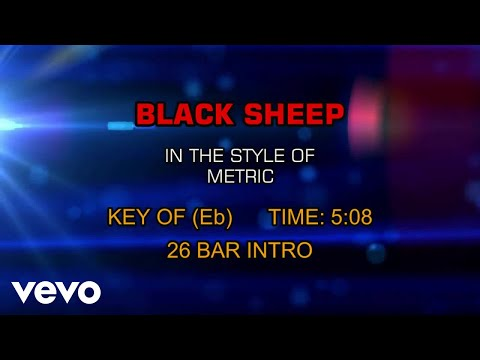Metric - Black Sheep (Karaoke)