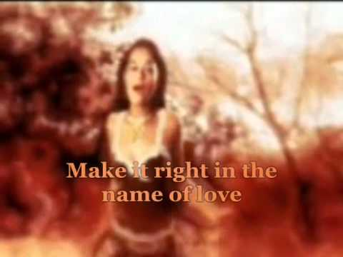 IN THE NAME OF LOVE.-YASMIEN KURDI [LYRICS]