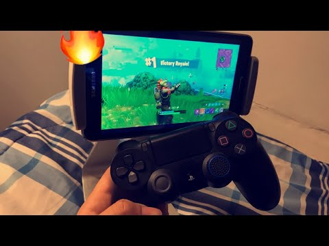 How to Connect your PS4 controller to IPad to play Fortnite!