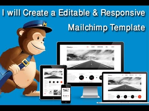 responsive mailchimp template mailchimp newsletter youtube. Black Bedroom Furniture Sets. Home Design Ideas