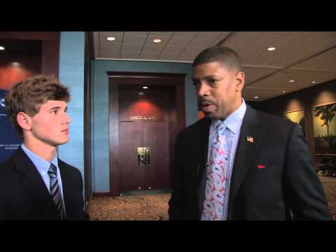 Sacramento Mayor Kevin Johnson discusses 2012 Democratic National Convention
