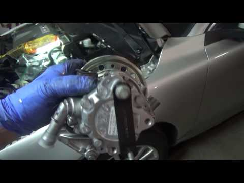 Volvo 3.2L Power Steering Pump Replacement