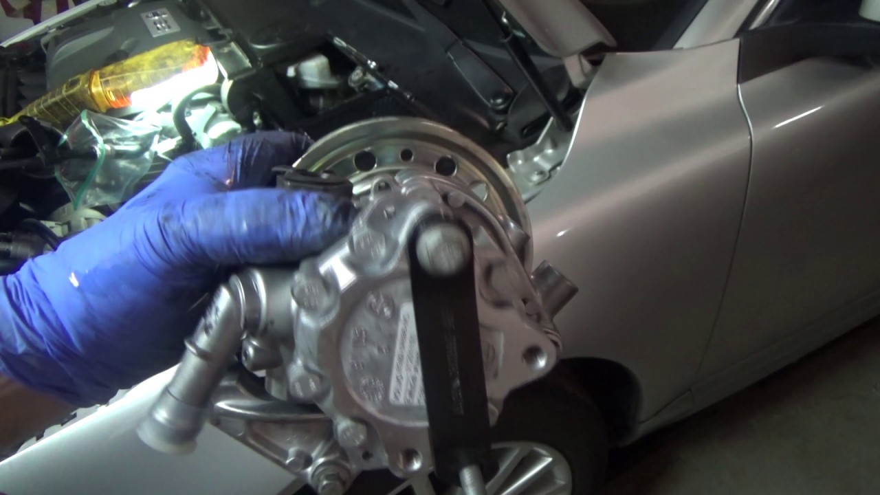 Volvo 3.2L Power Steering Pump Replacement - YouTube