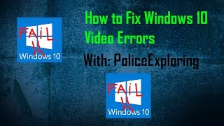 """How To Fix """"Video type not supported"""" Error On Windows 10 (NEW)"""