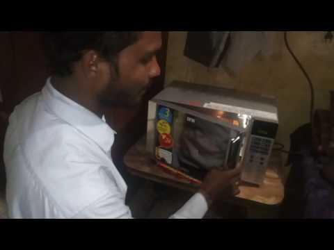 IFB 20SC2 20-Litre 1200-Watt Convection Microwave Oven (Metallic Silver) : Demo / Installation