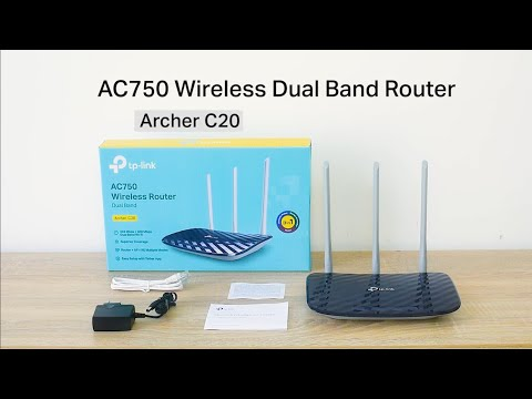 How To Set Up Tp Link Router Archer C20 Youtube