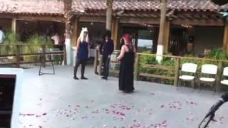 Lady Gaga and Slash @ Wedding