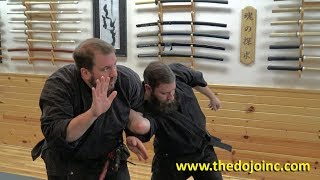 Samurai Armor Shoulder Lock technique - Martial Arts Clips