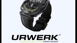видео Инновационные часы Urwerk UR-111C