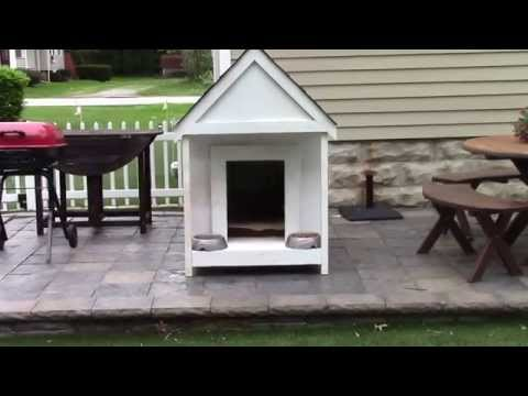 Finished Dog House with lightweight framing (part 2)