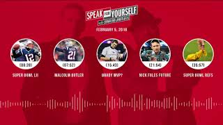 SPEAK FOR YOURSELF Audio Podcast (2.5.18) with Colin Cowherd, Jason Whitlock   SPEAK FOR YOURSELF
