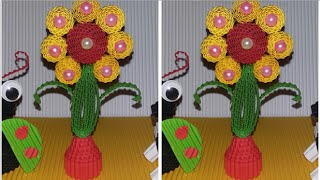 Download Video DIY simple flower from corrugated paper /  kokoru paper MP3 3GP MP4