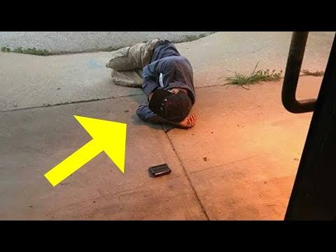 Thumbnail: Animal shelter sees homeless man sleeping outside door, are devastated when they realize