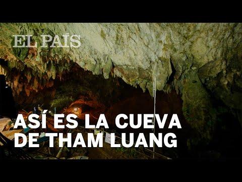 Así es Tham Luang, la cueva de Tailandia en la que 12 niños están atrapados