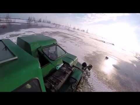 Travel in Siberia \ End of winter season