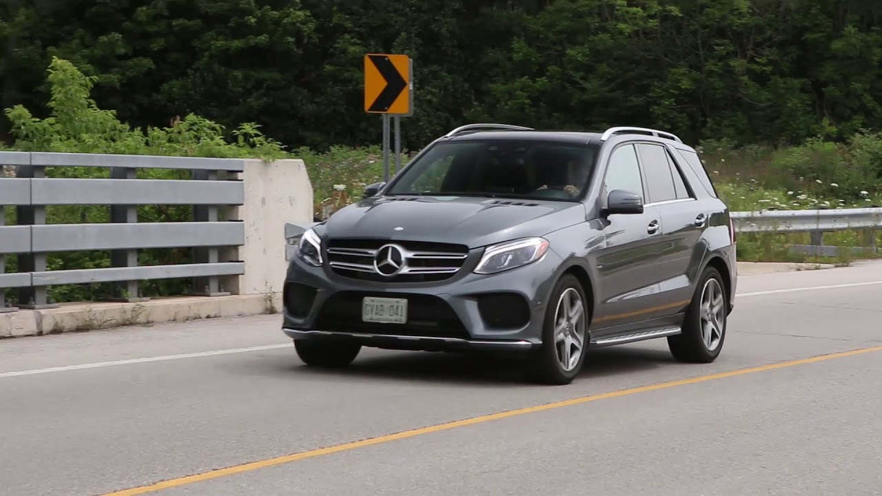 Suv Review 2017 Mercedes Benz Gle 550e Driving Ca