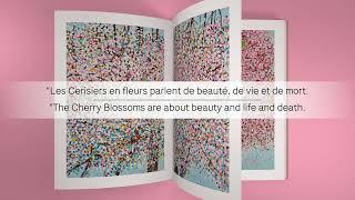 Catalogue de l'exposition Damien Hirst, « Cerisiers en fleurs »
