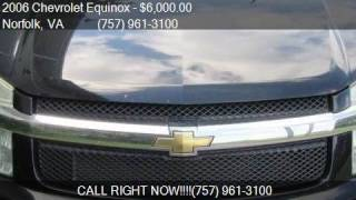 2006 chevrolet equinox lt awd 4dr suv for sale in norfolk v