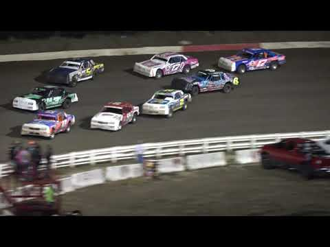 8/25/2017 I 80 Speedway Hobby Stock Feature - except the last 5 laps