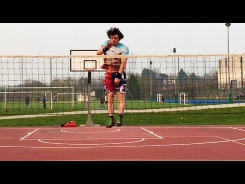 Vertical Jump Test on Volleyball Net - Ace Jumper
