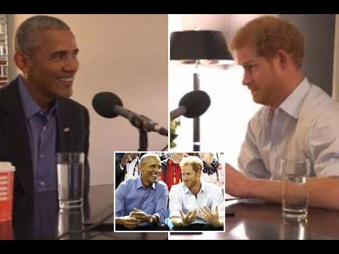 Barack Obama jokes with Prince Harry in sneak preview of royal's interview with ex President