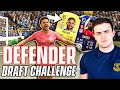I won a FUT DRAFT using DEFENDERS ONLY on FIFA 21!!