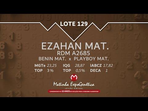 LOTE 129 MATINHA EXPOGENÉTICA 2021
