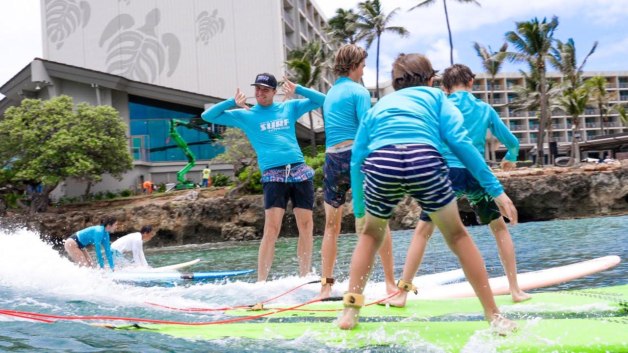 I OPENED A SURF SCHOOL (HAWAII)