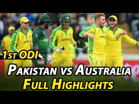 Pakistan Vs Australia | 1st ODI  Highlights | PCB