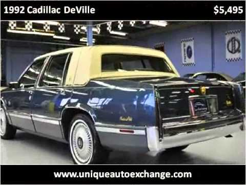 The Sharpest Rides 1992 Cadillac Deville S5059 | Doovi