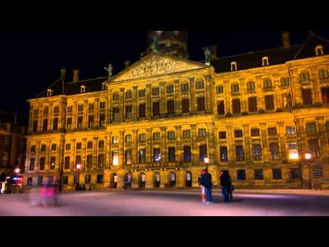 Amsterdam Timelapse 029: The Royal Palace Dam Square