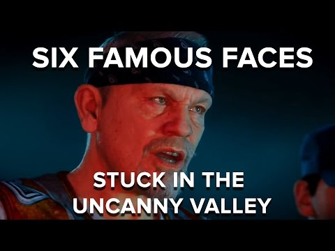 Six famous faces stuck in the uncanny valley